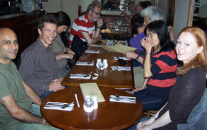 members at meal location
