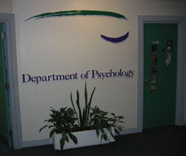 picture of Department entrance